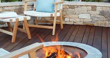 Winter-ready outdoor areas