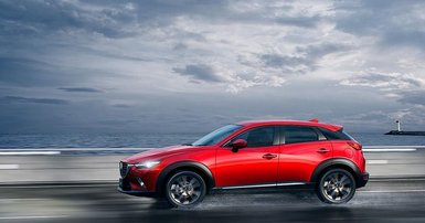 Great expectations for Mazda's big baby