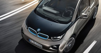 Electric BMW causes a whirr