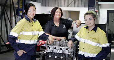 Boost for women in trades