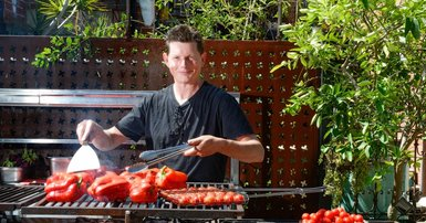 An Aussie barbecue — chef style