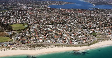 Perth gets lift in median house price