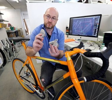 Printing bicycle parts not one dimensional