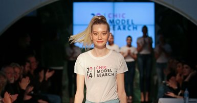Model search finds fresh face