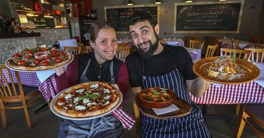 We love our pasta, pizza and a tipple